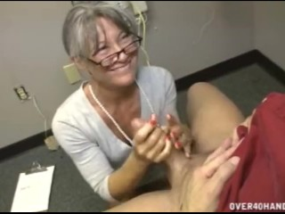 Watch wife give handjob