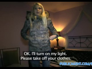 Tight Pussy Video Sex PublicAgent HD Blonde gets fucked in her virgin white underwear