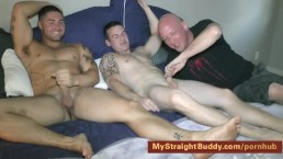 I Blow My Buddy Scottie While My Straight Marine Buddy Nick Watches