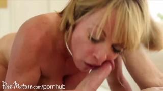 PureMature disobedient housewife split