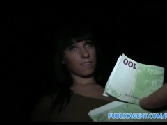 Movie:PublicAgent Spanish Teen with ...