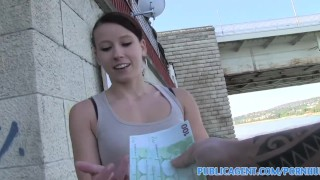 Publicagent Sexy fitness instructor fucking for money  sex for money sex for cash point of view homemade outdoors outside amateur hungarian cumshot pov fitness real camcorder reality doggystyle