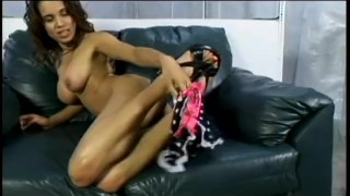 scene factor gag busty latina