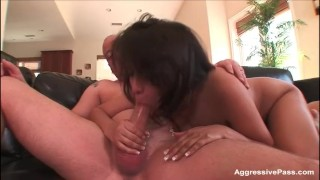 busty blonde cheats on boyfriend gets licking pussy