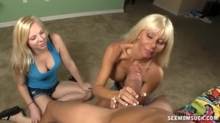 Demonstration milf blowjob mother blowjob