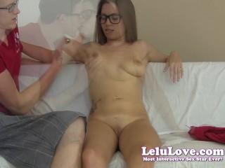 Lelu Love-Belly Tit Slapping Nerd Couple