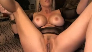 Hottie Rides her Dildo and Orgasms