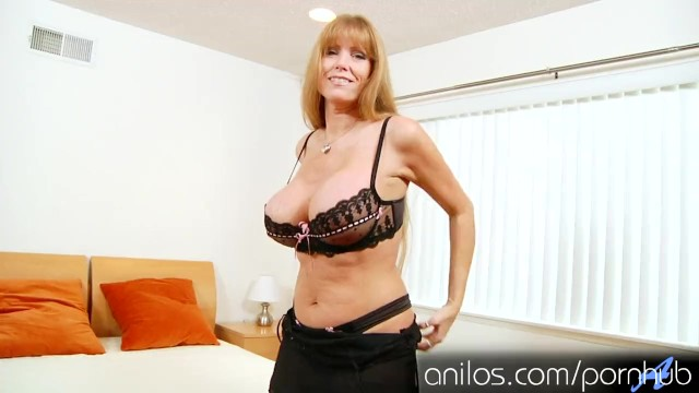 Mature and mom Mature mom darla cranes huge tits and hungry pussy