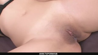 Creampied milf meguru kosaka busty shaved gets pussy her cowgirl bj