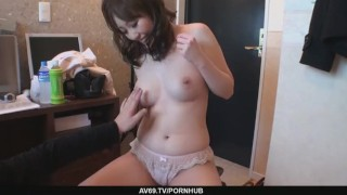 Big Titted Babe Emiri Mizusawa´s Hairy Twat Drilled  riding big-tits asian oriental mom busty toys milf hairy-pussy vibrator japanese brunette cowgirl mother av69 finngering