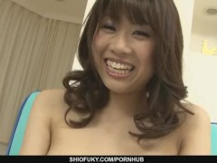 Busty Babe Ririka Suzuki Gets Fingered To Orgasm