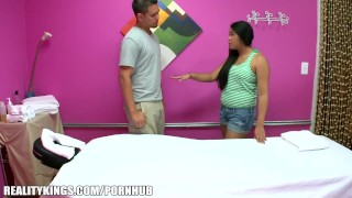 Reality Kings - Hidden camera massage turns into sex for cash  ass babe hairy asian blowjob big dick massage handjob strip wet oil orgasm hidden camera big boobs cash for ass realitykings.com