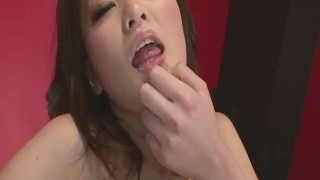 Tomoka Sakurai In Lingerie Gets Her Pussy Fingered  close-up asian oriental amateur mom milf squirting natural-tits japanese fingering mother small-tits orgasm high-heels shiofuky landing strip