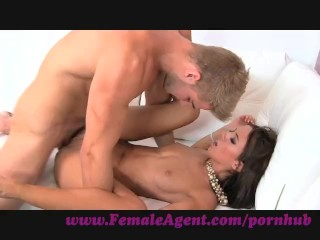 FemaleAgent. Cum all over my hot, tight body