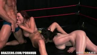 Jessica Robbin and Tessa Lane make a great tag team porno