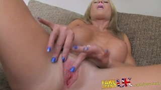 FakeAgentUK Busty MILF and her magic pussy causes premature problems  homemade clit rubbing british huge-tits fakeagentuk audition blonde mom cumshot casting office reality mother deepthroat bubble-butt interview doggystyle
