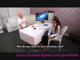 Preview 2 of FemaleAgent. Agent gets all oiled up by massuse stud