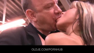 Paid collector with old oldyoung debt fuck men 69