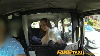 Faketaxi Young girl with big tits offers blowjob instead of cash