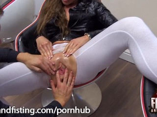 Pussy Fisting Cathy Heaven