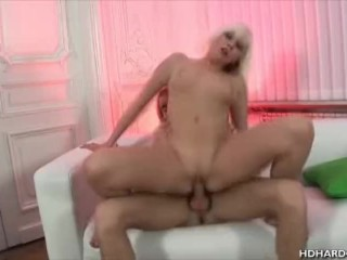 Nadine Gets Her Pussy Filled