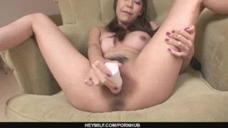 Busty Akari Asagiri Fucks Herself With Sex Toys sex-toy dildo milf asian oriental mom squirting sex-toys heymilf mother japanese big-tits masturbating adult-toys busty masturbates
