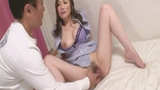 Skilled Miyama Ranko Makes Him Cum Without Penetration sex-toy dildo toys milf asian oriental mom blowjob amateur heymilf hairy mother japanese reality fetish adult toys