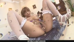 Big Titted Sumire Matsu Squirts From Masturbating