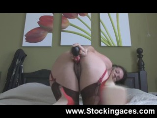Caught masturbating on webcam
