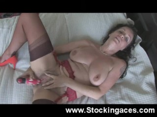 Marlynn Is Business Outfit Fucks Massive dildo