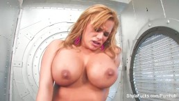 Shyla Stylez Dildos Herself Hard