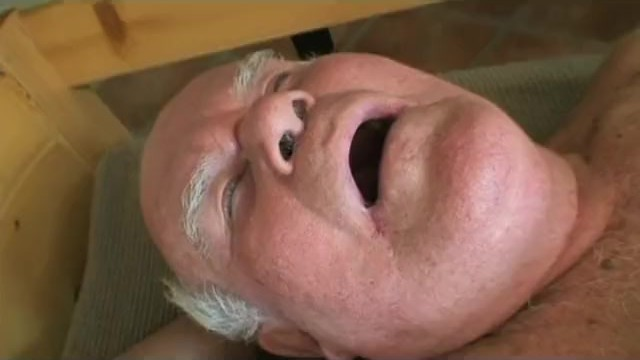 Giving grandpa a blowjob Old grandpa fucking a younger babe and giving blowjob