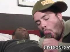 JD Daniels - Big Cock Black Dude Exploring A Tight Shit Hole