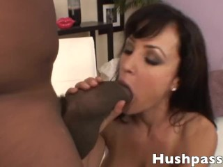 Joi Cum For Me Lisa Ann has her pussy split wide open by Shorty Mac s coke can of a dick