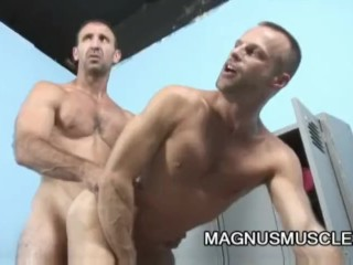 Mitch Brawn And Steven Richards Muscle Dilfs Butt Pluggers