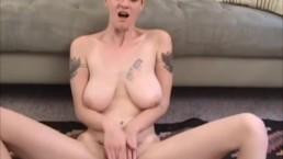 Zenia Markova Toying her Hairy Pussy