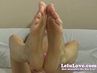 Lelu Love Toes Feet Jerkoff Encouragement