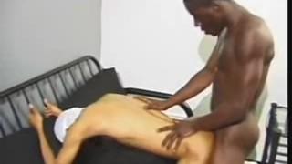 Black Men Bareback Action