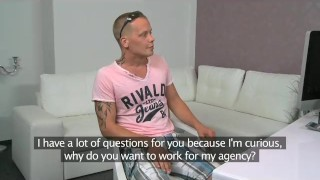 FemaleAgent. Stud dissapoints MILF in casting