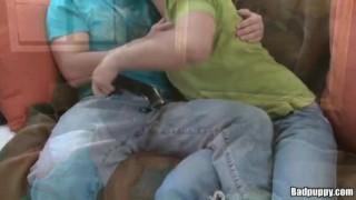 Tucker Scott and Tyler Andrews Cowgirl cum