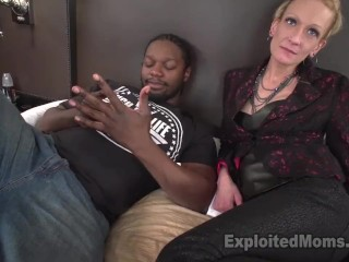 Amateur Tight Skinny Mom Gets Pounded By Mandingo