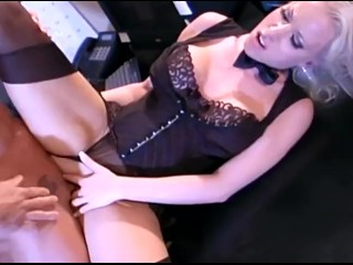 Filma Me Porno Fucking, Big boobed secretary In stockings and a garter dreaming about the boss Big T