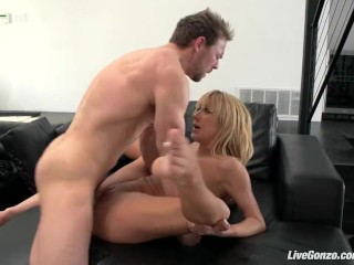 LiveGonzo Amy Brooke Nasty Anal Blonde
