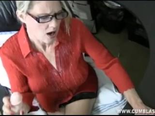 Jizz In Her Mouth Fucking, Computer Handjob and Cumshot Handjob Toys Mature