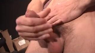 Cum confidential  scene jerking dick