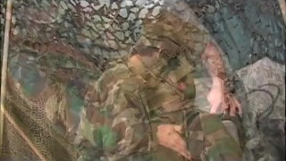 Uncut Soldiers - Scene 1 Public outdoors