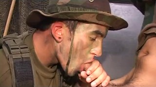 Uncut Soldiers - Scene 1 Cock bareback