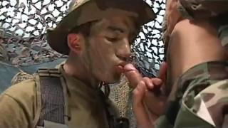 Uncut Soldiers - Scene 1 Stamp tramp