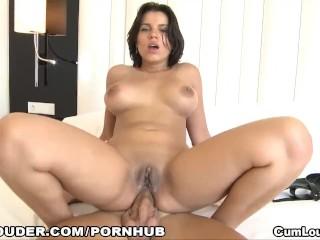 Horny Angel Rivas gets Ass fucked