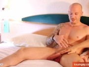 This straight guy get wanked for his 1st time life by a guy in spite of him